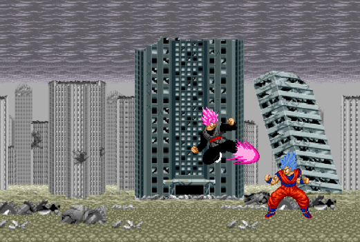Dragonball SuperSuper butouden(SNES) by protoss722