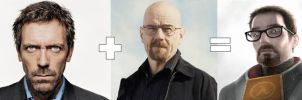 Gordon Freeman = House + Walter White by TheDemonsReflection