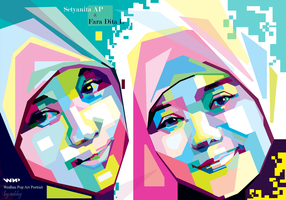 Nita Fara in wpap by mbleg25