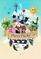 Party Packs - University Flyer by benhewittcreative