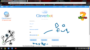 Cleverbot wants to marry me! by Heyrandomppl