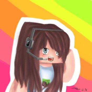 Some Minecraft Art by Catdogfatness