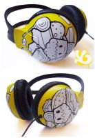 Sweet Things Headphones by Viagraphics