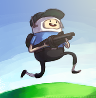 Finn the Scout [BLU] by CelestialDarkMatter