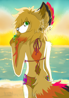 Just Me, You and the Beach by Haddonfielder