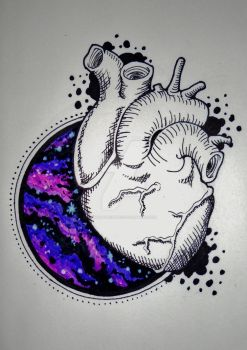 Heart tattoo design by MadPorcupine