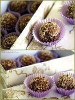 Nutty Egg Liqueur Chocolates II by pandrina