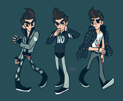 Rockit Outfits 3 by oxboxer