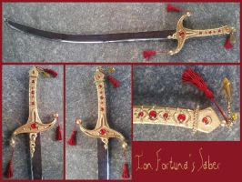 TRINITY BLOOD - Ion Fortuna's saber by AridelaAriadne