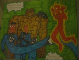 fantastic four markers by tallcartoons123