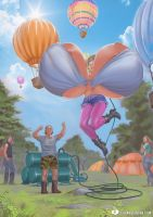 Hot Air Balloons by expansion-fan-comics