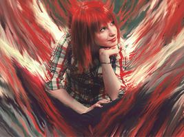 Hayley Williams Smudge by DaNNy-Design