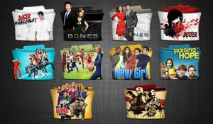 TV Series Folder Icons pack 3 HD by stavrosvran