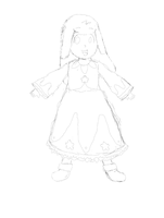 (First Sketch) Star Child (Needs a Name) by EpicN