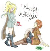 Happy Holidays by TheDeedleDee