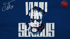 Why so serious - Wallpaper by IndividualDesign