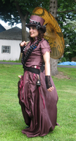 Steampunk Airship Pirate First Mate Costume by grg-costuming