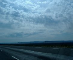 Near Fort Stockton, Texas by DeloreanREB