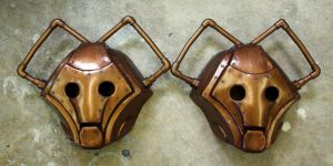 Cybershade Masks (Doctor Who) by Faust-and-Company