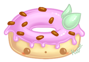 Cute Donut by Metterschlingel