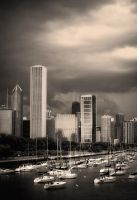 Chicago Harbor by Parabola-Pop