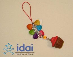 My first cupcake charm 1 by Candy27