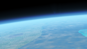 Earth Horizon by Spaceguy5