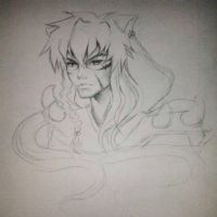 older inuyasha by KitDesertOfFate27