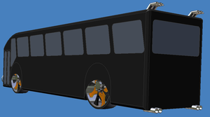 Lowrider Bus - original by MarzEz