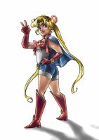 Sailor Moon by thedandmom