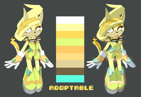 Sonic Adoptable [Cat] CLOSED by mili-metre
