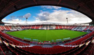 AFAS Stadium Alkmaar by Nightline