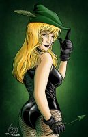 Black Canary by Chachaman by wrathofkhan