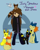 Pokemon trainer~ Ivy Shadow~ by Sierracat7807
