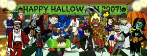 Halloween Party 2007 by AngelCrusher