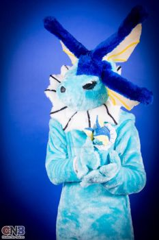 Vaporeon cosplay : anime friends 2013 by vaporeon1306