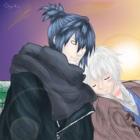 Nezumi and Shion by Oyuku