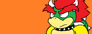 Bowser in Sonic form (AGAIN) by Stone-Hedgehog