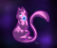 Mew by kyraflight