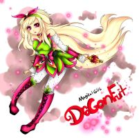 Magical girl dragonfruit by Tukuma
