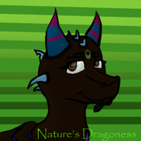 Livestram Icon- Nature's Dragoness by hawkbreath1
