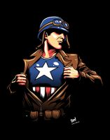 The First Avenger by ninjaink