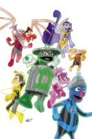 Muppet Lanterns by micQuestion