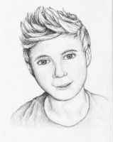 Niall Horan from One Direction by SarahStar123