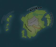 The Continent of Agem by ZacheryGangrel