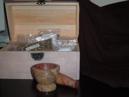 mortar and pestle 1 by immortalis-stock