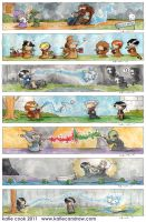 harry potter series by katiecandraw