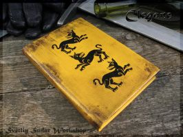 Leather diary Clegane (GoT) by Svetliy-Sudar