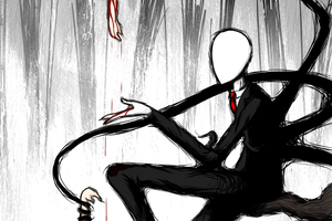 Slenderman_Red Tears of Children by Chivi-chivik
