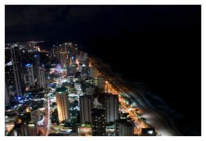 Surfers Paradise Night 5 by furryboy80